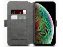 CaseBoutique Slim Wallet Zwart - iPhone Xs Max hoesje