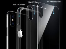 Crystal Case HD Glass - iPhone Xs Max Hoesje