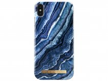 iDeal of Sweden Case Indigo Swirl - iPhone Xs Max hoesje