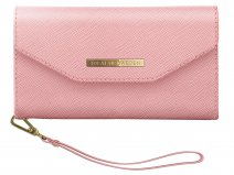 iDeal of Sweden Mayfair Clutch Roze - iPhone Xs Max Hoesje