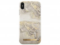 iDeal of Sweden Case Sparkle Greige Marble - iPhone Xs Max hoesje