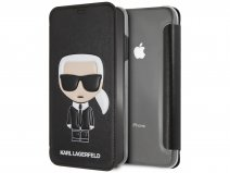 Karl Lagerfeld Iconic Bookcase - iPhone Xs Max hoesje