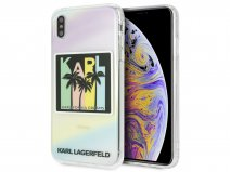 Karl Lagerfeld Karlifornia Dreams Case - iPhone Xs Max hoesje