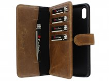 Pierre Cardin True Wallet Bruin Leer - iPhone Xs Max hoesje