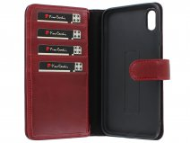 Pierre Cardin True Wallet Rood Leer - iPhone Xs Max hoesje