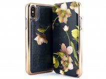 Ted Baker Aboretum Folio Case - iPhone Xs Max Hoesje