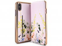 Ted Baker Elegant Mirror Folio Case - iPhone Xs Max Hoesje