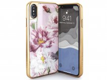 Ted Baker Iguazu HD Glass Case - iPhone Xs Max Hoesje
