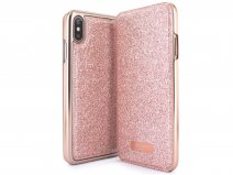 Ted Baker Glitsie Folio Case - iPhone Xs Max Hoesje