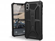 Urban Armor Gear Monarch Leer - iPhone Xs Max hoesje