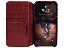 Vaja Wallet Agenda Case Chili - iPhone Xs Max Hoesje Leer