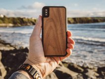 Woodcessories EcoCase Walnut - iPhone Xs Max hoesje