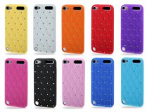 Diamond Silicone Skin Case voor iPod touch 5G/6G