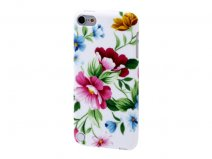 Elegant Flowers TPU Case - iPod touch 5G/6G hoesje