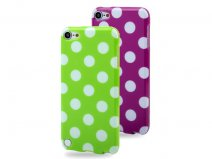 Funky Polka Dot TPU Soft Case Hoesje voor iPod touch 5G/6G