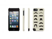 Griffin Mustachio Hard Case Hoesje voor iPod touch 5G/6G
