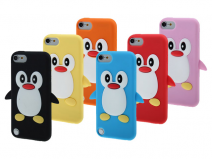 Pinguin Silicone Skin Case voor iPod touch 5G/6G