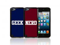 CaseBoutique Nerd & Geek Hard Case Hoesje voor iPod touch 5G/6G