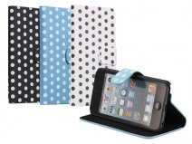 Polka Dot Sideflip Stand Case Hoesje voor iPod touch 5G/6G