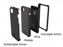 Tech21 Patrol Rugged Case - iPod touch 5G/6G/7G Hoesje