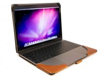 Tuff-Luv Leather Case Cognac - MacBook 12