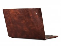 Vaja Suit Leather Case Bruin - Leren MacBook Air 13