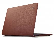Vaja Suit Leather Case Bruin - Leren MacBook Pro 16