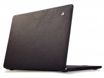 Vaja Suit Leather Case Zwart - Leren MacBook Pro 16
