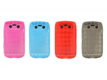 Argyle TPU Case Hoes voor Blackberry Bold 9790