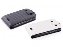 Carbon Flip Case Hoes Blackberry Bold Touch 9900