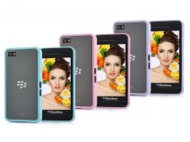 Pastel Series BiMat TPU Crystal Case Hoesje voor Blackberry Z10