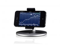 Just Mobile Lounge - iPhone Desk & Dash Stand
