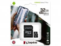 Kingston 32GB Micro-SD Geheugenkaart - Class 10 UHS-I