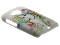 Crystals ''Beautiful Girl'' Case Hoesje voor HTC Desire C