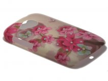 Crystals ''Romantic'' Case Hoesje voor HTC Desire C