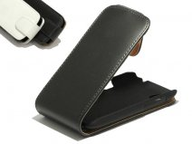 Classic Leather Flip Case voor HTC Desire X