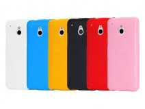 Color Series TPU Soft Case Hoesje voor HTC One Mini