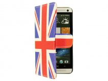 Great Brittain Book Case Hoesje voor HTC One (M7)