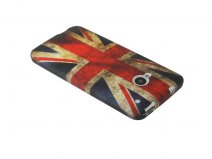 Great Brittain Vintage Case - HTC One M7 hoesje