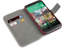 Covert UltraSlim Book Case - Hoesje voor HTC One M8