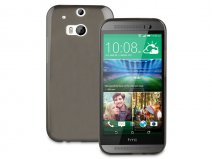 Muvit MiniGel Smoke - TPU Case voor HTC One M8