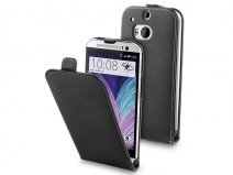 Muvit Slim Elegant Leather Case - Hoesje voor HTC One M8