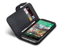 Qubits Wallet Case - Hoesje voor HTC One M8