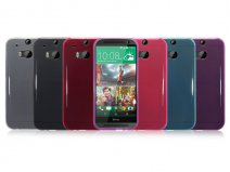 Terrapin TPU Soft Case - Hoesje voor HTC One M8