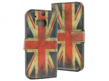 Great Brittain Walletcase - HTC One M8 hoesje