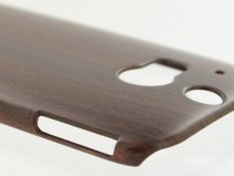 Hout Look Hard Case - Hoesje voor HTC One M8