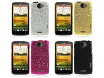 Glittery Disco Case Hoesje voor HTC One X