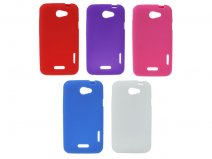 Silicone Skin Case Hoesje voor HTC One X