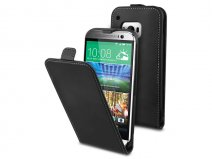 Muvit Slim Elegant Leather Case - Hoesje voor HTC One M9