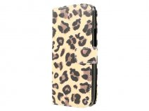 Leopard Book Case Hoesje voor HTC One M9